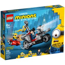 LEGO Unstoppable Bike Chase 75549 Minions The Rise of Gru Age 6+ 136pcs