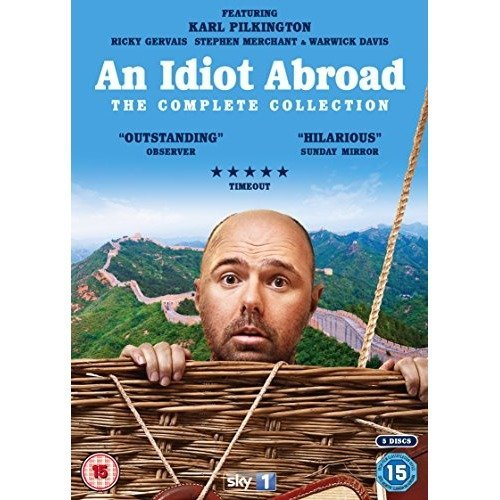 An Idiot Abroad Series 1 to 3 Complete Collection DVD [2016]