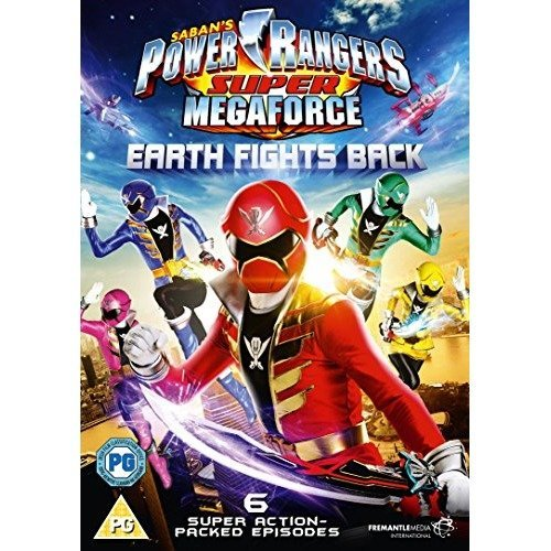 Power Rangers - Super Megaforce - Volume 1 - Earth Fights Back DVD [2015]
