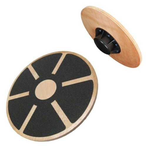 Kabalo Fitness Wooden Wobble Balance Board Rehabilitation Exercise Fitness Gym (Slip-resistant surface and 180kg max load)