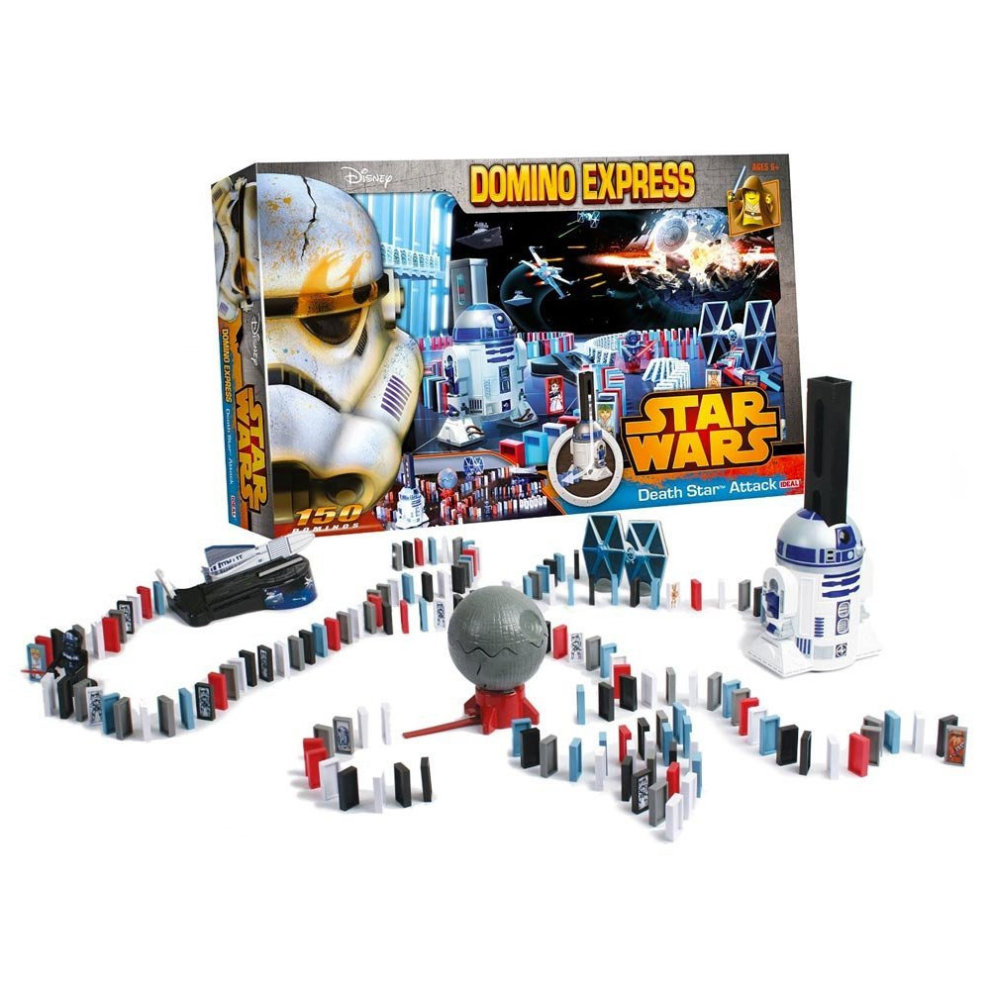 Domino Express Star Wars Death Star Attack