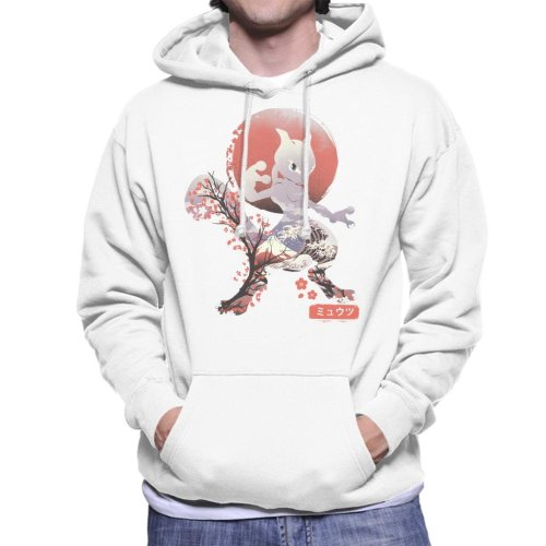 Ukiyo Mewtwo Pokemon Men's Hooded Sweatshirt