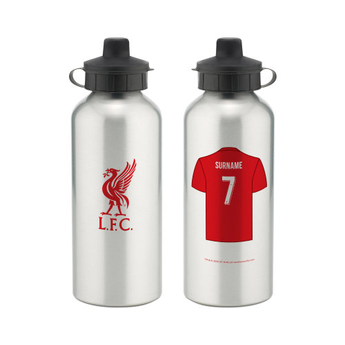 Official Personalised Liverpool FC Aluminium Water Bottle