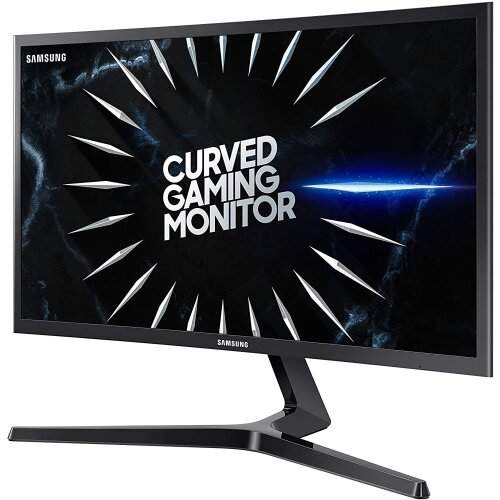 """SAMSUNG 24-Inch CRG5 144Hz Curved Gaming Monitor (LC24RG50FQNXZA) """" Computer Monitor, 1920 x 1080p Resolution, 4ms Response, FreeSync, Game Mode"""