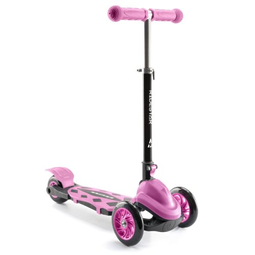 RideStar Kid's 3 Wheeled Scooter | Adjustable Ride-On