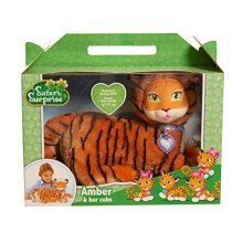 Just Play Safari Surprise Amber Tiger Plush