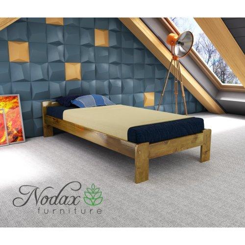 New Wooden Furniture Solid Pine Single Bedframe 3ft UK Size - F5