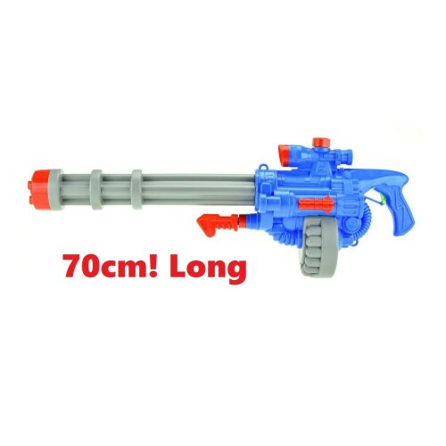 water machine gun large 70cm long bazooka blaster instant soaker water