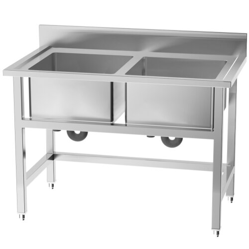 Metal Domestic Commercial Catering Sink Kitchen Warewashing Sinks Free Standing