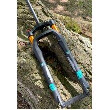 Air Bike Fork XC32 Fat Fork HLO 26 Inch Black-Gold 100mm