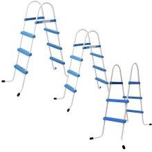 Jilong 2 or 3 Step Pool Ladder Above Ground Swimming Pools Safe Rung Ladder