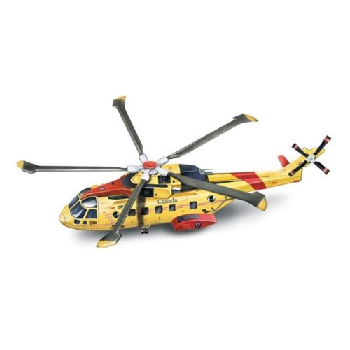New-Ray 25513 Agusta Eh 101 Canadian Search And Rescue Helicopter