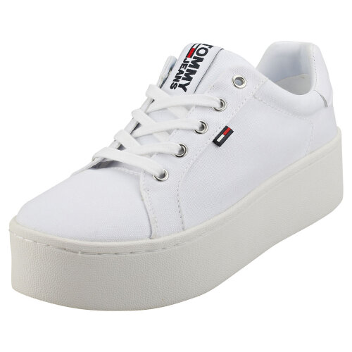 Tommy Jeans Sneaker Womens Flatform Trainers