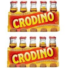 *** 2 Pack *** San Pellegrino Crodino Italian Aperitif Drink Beverage 100ml Non Alcoholic!