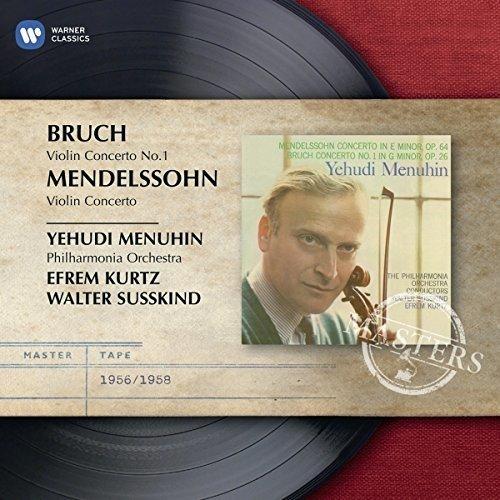 Yehudi Menuhin - Bruch/mendelssohn: Violin Concertos [CD]