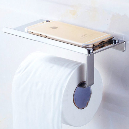Toilet Tissue Holder Roll Papers Stand Storage Dispensers Wall Mounted