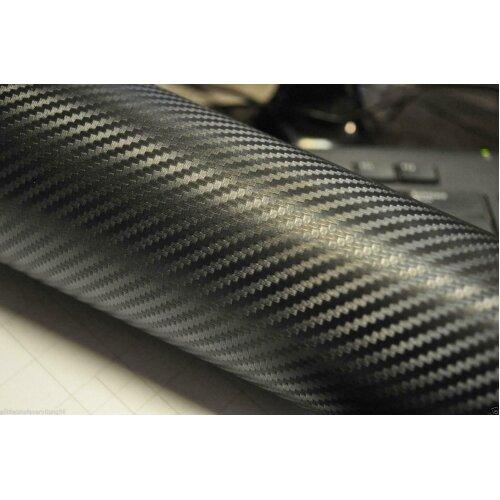50cm x 30cm Carbon Fibre Wrap - Comes Complete With Fitting Kit - 3D Structure