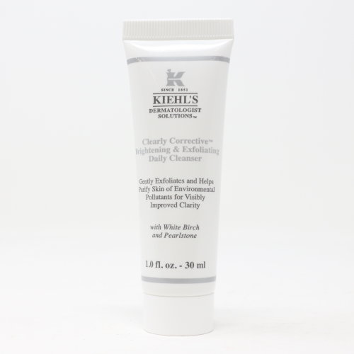 Kiehl's Clearly Corrective Daily Cleanser  1oz/30ml New