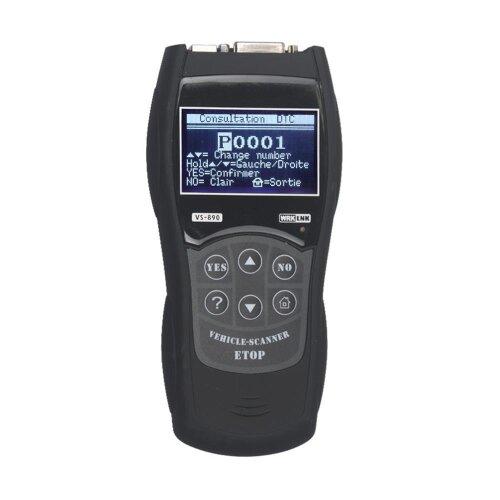 Car Fault Code Reader Engine Diagnostic Scanner Reset Tool OBD2 CAN EOBD