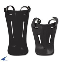 CHAMPRO Sports Throat Guards Retail Pkg 4 5 Black