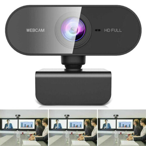 Webcam with Microphone Full HD 1080P Streaming Camera for Windows MAC Laptops