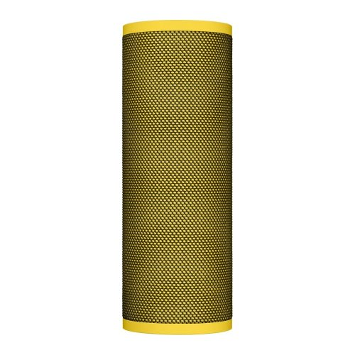 ULTIMATE EARS Blast Portable Bluetooth Voice Controlled Speaker - Yellow, Yellow - Refurbished