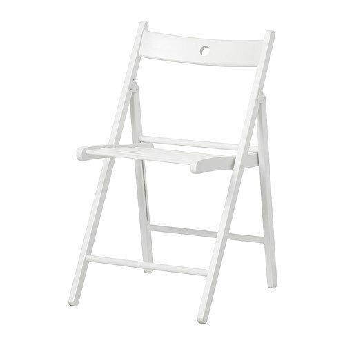 Ikea TERJE - Folding chair, white