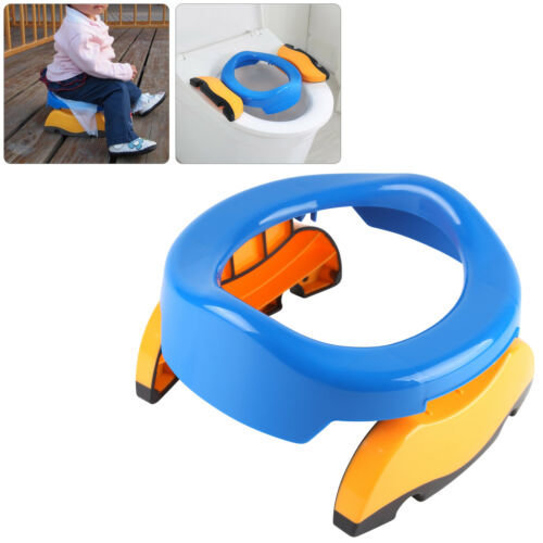 Kids Potty Training Travel Portable Foldable Toddler Toilet Safe Seat