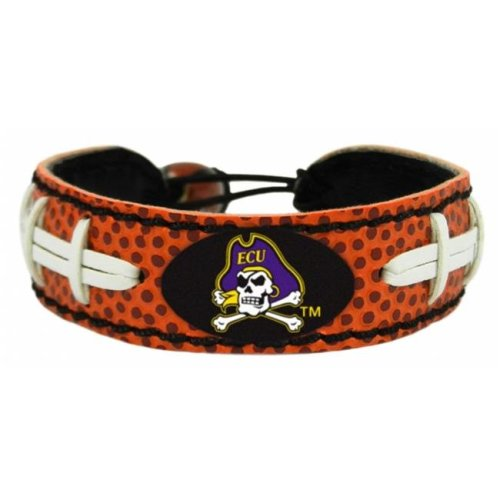 East Carolina Pirates Classic Football Bracelet