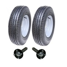 High speed trailer kit 5.00-10, road legal wheels + hub & stub axle