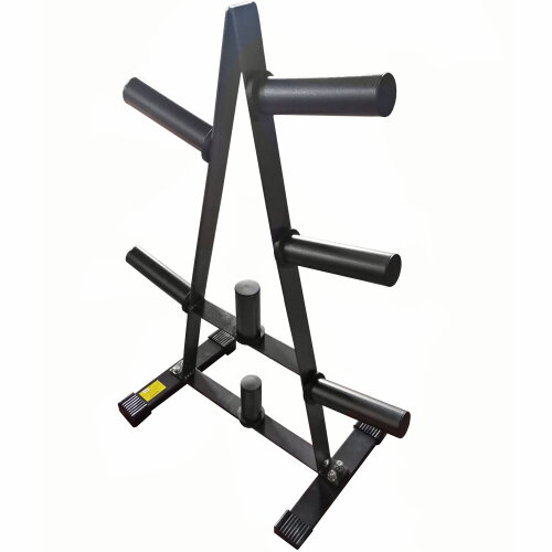 """GYM MASTER 2"""" Olympic Weight Plate Tree & Storage Rack for 2"""" Plates"""