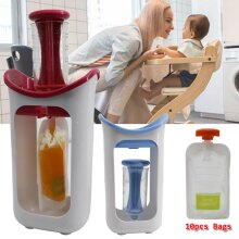 Baby Food Puree Squeeze Station Storage