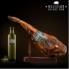 Delizius Deluxe Cured Iberico Ham/Ham 8/8.5 Kg