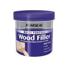 Ronseal 34735 Multi Purpose Wood Filler Tub Natural 250g