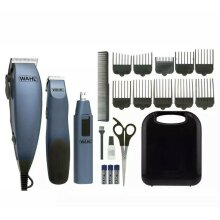 Wahl Clippers, Gift Set, with Mains & battery operated with free Nose/Ear trimmer in it's own Case.