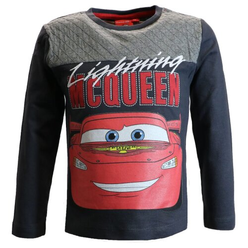 (Navy, 7-8 Years) Disney Cars Boys T-Shirt McQueen