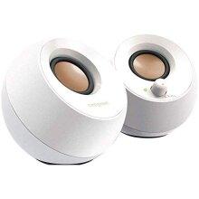 Creative Pebble - 2.0 USB Desktop Speakers, White