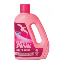 ELSAN Toilet Rinse - Pink - 2 Litre [PIN02]