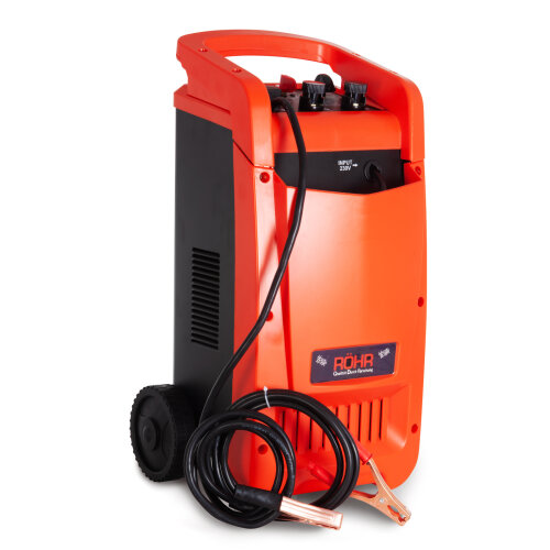 Rohr DFC-650P Car Battery Charger | Heavy Duty 100 Amp 12V / 24V Intelligent Turbo / Trickle with Battery Repair and Maintainer Technology