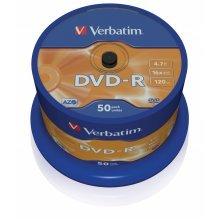 Verbatim DVD-R Matt Silver 4.7GB DVD-R 50pc(s)