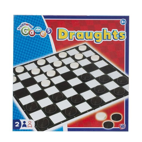 Draughts Checkers Board Game Kids Children Traditional Folding Board Game Family