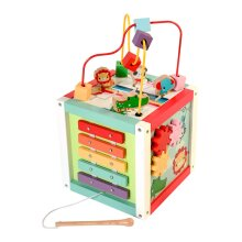 Fisher Price Wooden Activity Cube