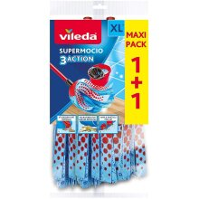 Supermocio 3 Action Xl Refill Pack of 2 Cleaning Tools Mops