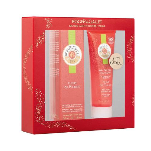 Roger Gallet Pack Fleur de Figuier Perfumed Water + Shower Gel
