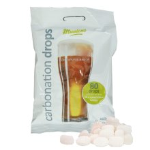 Muntons Carbonation Drops 160g Pack (Approx 80 Drops) Sugar Tablets - Homebrew
