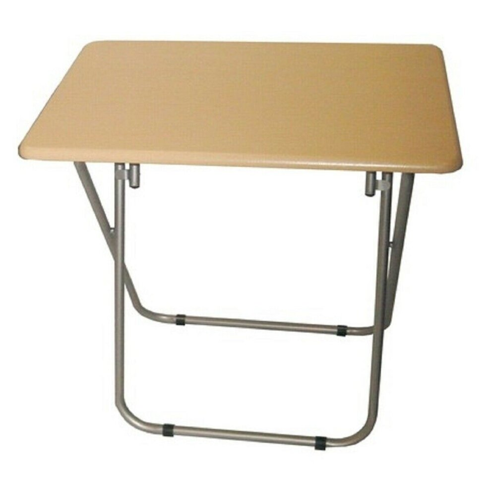 Small Folding Wooden Tv Table Side Fold Computer Desk On Onbuy