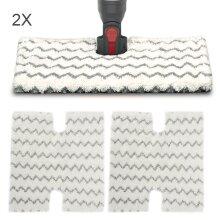 2Pack Replacement Shark Pads Steam S6001 S6003 Flip Steam Mop Pads