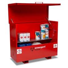 Armorgard FlamBank Flammable Liquids Safe Storage Site Chest Box - 1585x675x1275mm