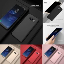 New Luxury Full Body Hybrid 360 Protection Hard Acrylic Shockproof Phone Case Cover + Screen Protector For Samsung Galaxy S9 Plus Note 8 S8 S7 edge