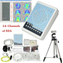 KT88 Digital Brain Electric Activity Mapping 16 channels of EEG ECG PC software